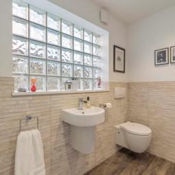 Bathroom/utility with sliding doors