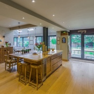 Remodelled kitchen living dining