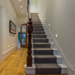 Staircase with feature lighting