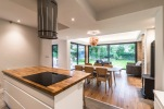 Open plan kitchen/ living/ dining