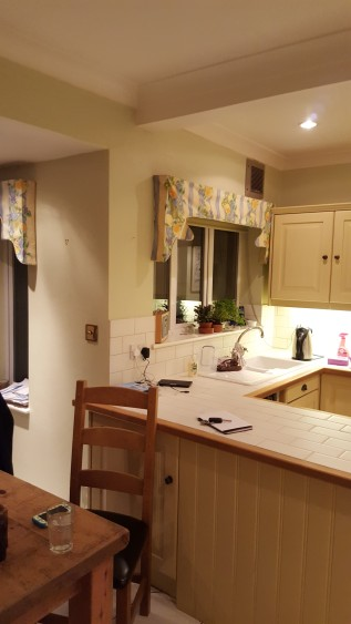 Before the kitchen was dated and cramped
